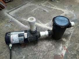 moto bomba con filtro