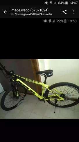 Vendo bicicleta nueva
