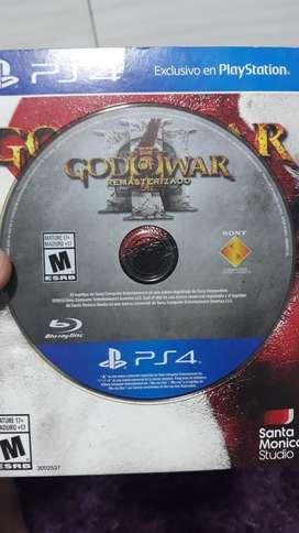 God Of War Remasterizado Juego Ps4