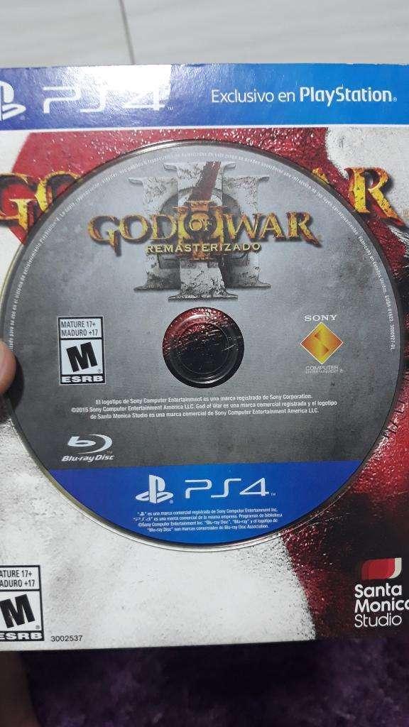 God Of War Remasterizado Juego Ps4 0