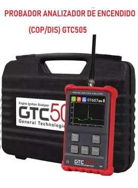 Analizador de sistemas de encendido GTC-505