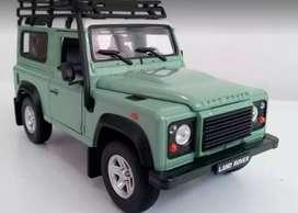 Land Rover Defender Verde/Escala 1:24/ 18 Centímetros de Largo/ Metál
