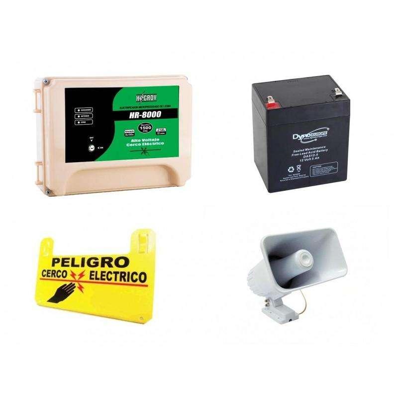 Kit Cerco Electrico Hagroy Hr8000 1500metros Con Smd 0
