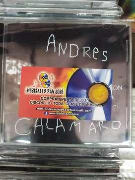 CDS ORIGINALES ANDRES CALAMARO