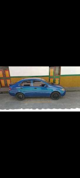 Vendo Aveo sedan 1400 modelo 2006 tecno nuevo SOAT hasta octubre