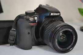 NIKON D3300 CARGADOR ESTUCHE