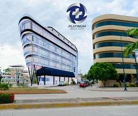 CONSULTORIOS MÉDICOS Y LOCALES EN VENTA, PLATINUM MEDICAL CENTER, MACHALA
