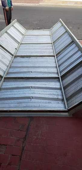 Vendo urgente estructura de chapa para techo