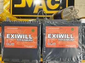 Bateria Exiwill Ns40 super Full Equipo