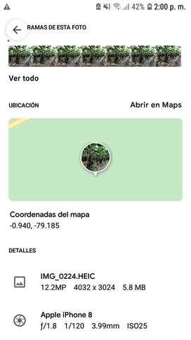 Terreno de 3.688 metros ubicado en la Provincia de Cotopaxi, Cantón La Mana