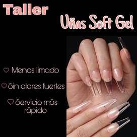Taller SOFT gel Uñas
