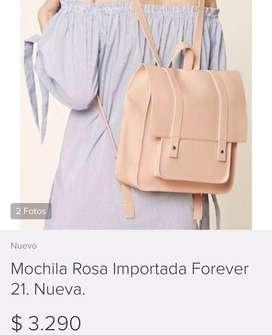 Liquidacion Remate de Mochila Nueva Mujer Forever 21