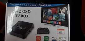 Vendo tv box original con control teclado