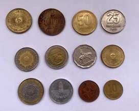 Argentina monedas de coleccion