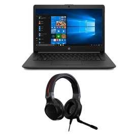 Combo Portatil HP 255 G7 AMD Athlon 4 GB 500 GB 15.6 Windows 10 Home + Diadema Gamer Acer Nitro