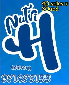 GALLETAS NUTRI H - DELIVERY GRATIS