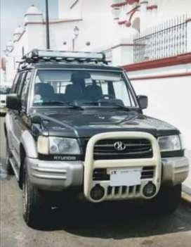 Ocacion remato camioneta 4x4 Hyundai Galloper, excelente estado, de uso particular