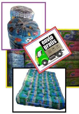Algodón colchón colchones de algodón