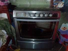 Cocina indurama digital 5 hornillas