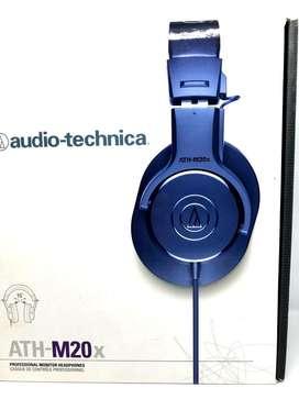 Audifonos de estudio o DJ  profesionales Audio Technica