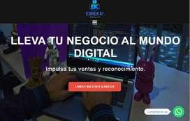 Paginas web con integracion de comercio electronico