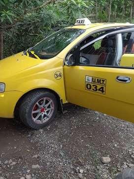 se vende taxi en la troncal provincia el canar