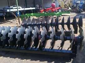 Discos agricolas para arado de suelos material en acero