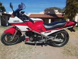 Yamaha fj 1200 de coleccion
