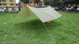 sobre carpa para camping impermeable