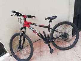 Bicicleta montañera, perfecto estado, negociable