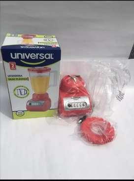 Licuadora universal 350 w de potencia - roja