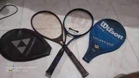 Vendo raquetas de tenis