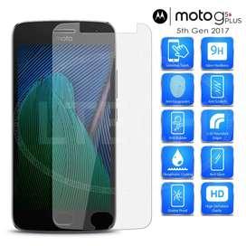 Film Vidrio Templado Motorola Moto G5 G5 Plus Gorilla Glass