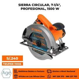 Sierra Circular Profesional 1500W .