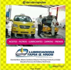 ACEITES - FILTROS - LUBRICANTES - ZAPATAS - FRENOS