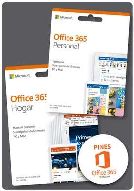 VENDO LICENCIA OFFICE 365 HOGAR (HASTA 6 PERSONAS)