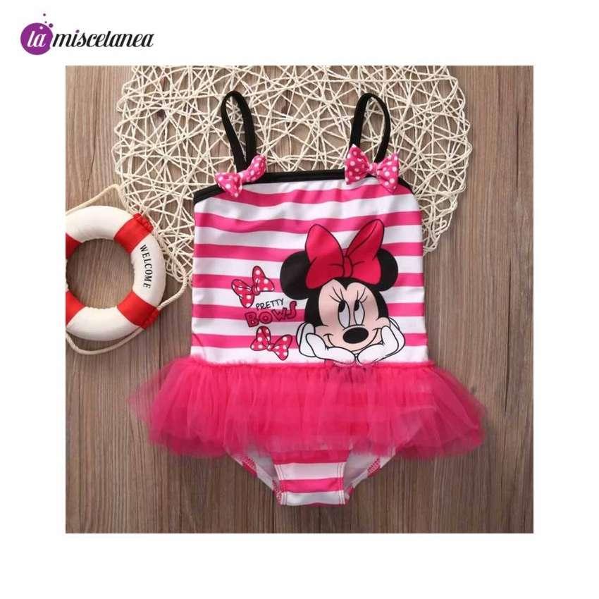 Vestido / Traje de baño para niñas - Minnie Mouse 0