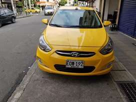 Taxi hyundai i 25 modelo 2019