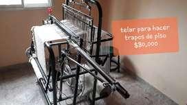 Máquina para hacer trapos de piso y rejilla