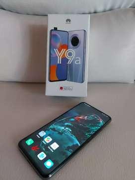 Huawei Y9a   vendo o cambio por menor valor