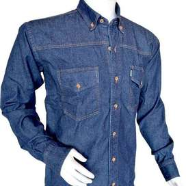 camisa jean industrial