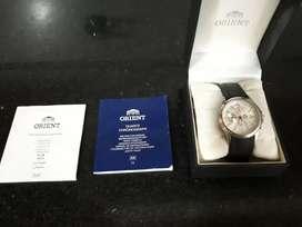 Reloj orient quartz  chronograph