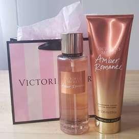 Victoria Secret cremas y splash