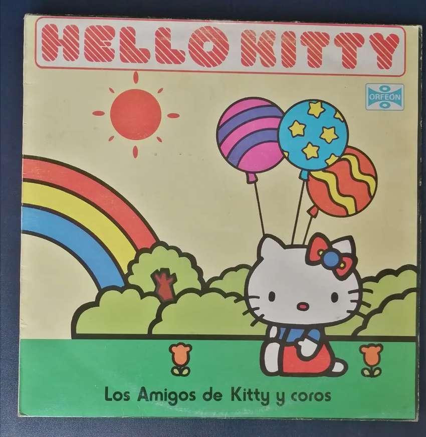 Lp vinilo acetato hello kitty
