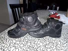 Vendo botas alter delta son para motos cortas