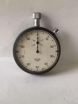 Antiguo cronómetro heuer de coleccion