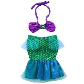 Disfraz Sirenita Bebe Tallas recien nacido hasta 4 años