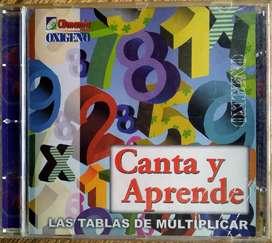 Canta y Aprende Las Tablas de Multiplicar (CD Original)