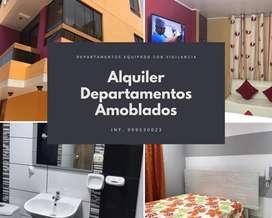ALQUILER DEPARTAMENTO AMOBLADO CHINCHA