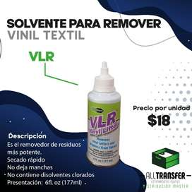 Solvente para remover vinil textil VLR de 6fl.oz (177ml), de All transfer
